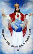 Jesus King of All Nations 8 x 13 Color Image