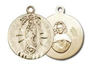 Our Lady of Guadalupe 12kt Gold Filled Medal