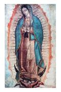 Our Lady of Guadalupe Color Image