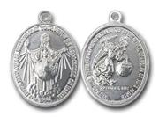 Jesus King of All Nations Aluminum Medal Small