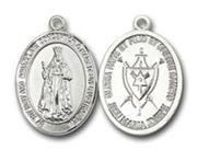 Our Lady of America Silver Plate Medal - Large