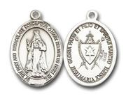 Our Lady of America Sterling Silver Medal - Large