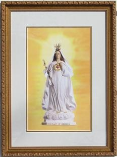 Our Lady of America Framed Image