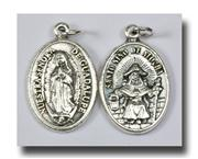 Our Lady of Guadalupe Aluminum Medal