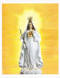 "8"" x 10"" Our Lady of America Color Image"